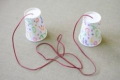 Paper Cup Phone Homemade