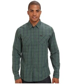 RVCA Riverbed L/S Duck Green - Zappos.com Free Shipping BOTH Ways