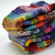 Handgestrickte Mütze mit einfachen Muster aus Baby Alpaka Wolle, einfach nur kuschelig warm :-)))
