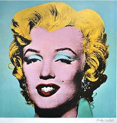 The one and only Marilyn by Andy Warhol