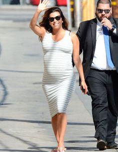 Eva Longoria, Jimmy, People, Pregnancy, Maternity, Bodycon Dress, Avril, Celebrities, Hollywood