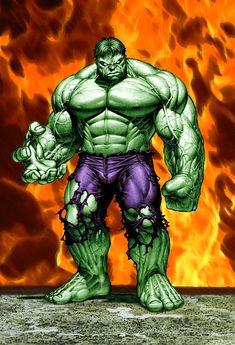 The hulk, alter ego dr. the hulk, the o Hulk 1, Hulk Comic, Hulk Avengers, Hulk Marvel, Marvel Art, Comic Art, Ms Marvel, Captain Marvel, Superman Hulk