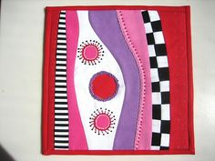 """No Name"" Mini Art Quilt # 6"