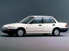 Aww...my little white Honda Civic...my first (and only...as my dad predicted) new car
