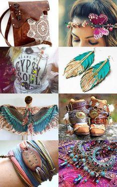 estilo #boho , #gypsy , #hippie #chic  ....