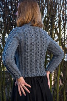 New Design: Cable Round Sweater