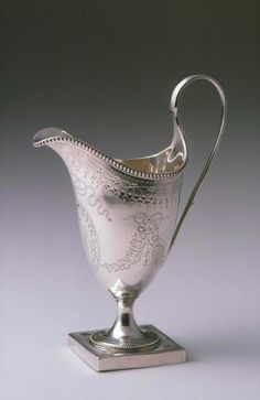 Cream Jug. English (London). Hester Bateman, 1786–87. Silver