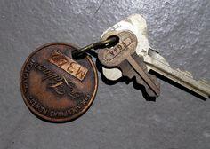 Vintage Hotel Keys to The Latham Hotel by VestraVintageVita