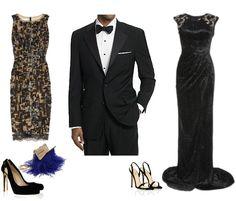 Semi-formal – black tie dress