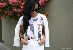 swellmayde: DIY | PHILLIP LIM INSPIRED FLORAL WORD T-SHIRT