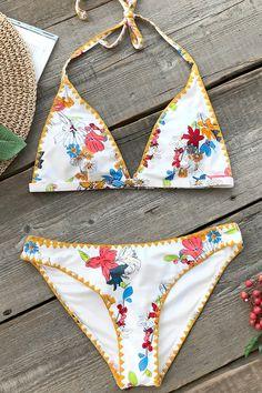 ee229012178bb Keep Young Print Bikini Set Brazilian Bikini