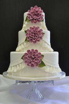 sugar ruffles cakes - Buscar con Google