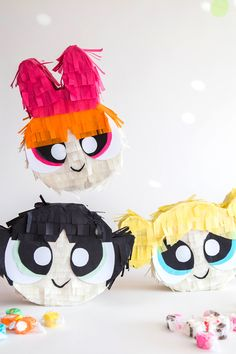 A power packed post full of the best Powerpuff girls birthday party ideas! This post is full of a little sugar, spice and one great powerpuff girls party! Girl Birthday Themes, Bday Girl, Little Girl Birthday, Girl Themes, Unicorn Birthday Parties, Birthday Pinata, Mini Pinatas, Powerpuff Girls, Crafts