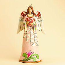 Jim Shore Valentine's Day Love Angel Holding Heart Figurine ~ 4031208