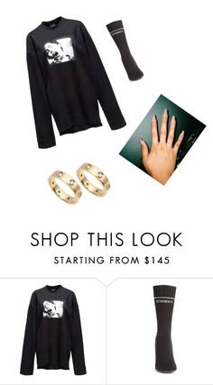 """""""Untitled #2687"""" by oreabe ❤ liked on Polyvore featuring Puma, Vetements and Cartier"""
