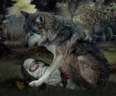 protection wolf
