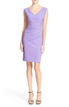 0aa1ec2e119 Diane von Furstenberg  Bevin  Ruched Sheath Dress (Nordstrom Exclusive)  available at