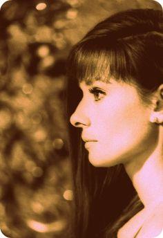 Audrey Hepburn side profile