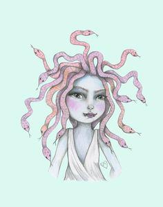 Medusa. veritycampbellart