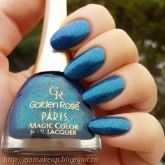 #nails #goldenrose