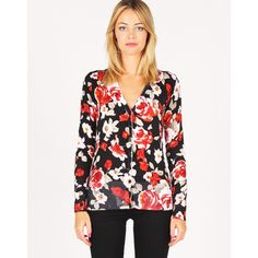 'Glassons'  Floral-Print Cardigan. Sale $17.50