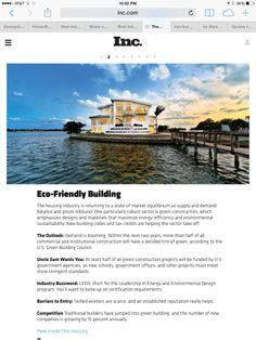 Contribution to Inc. Rebounding, Construction, Green, Design, Building