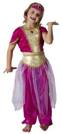 Arap Prensesi Kostümü,  Lüks 4-6 Y