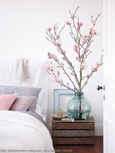 slaapkamer - bedroom - Magnolia - styling - Model Home Interior Design Home Bedroom, Bedroom Decor, Serene Bedroom, Pastel Bedroom, Scandinavian Home, Bedroom Styles, My New Room, Cozy House, Home Interior Design