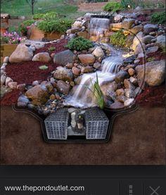LOVE this waterfall!
