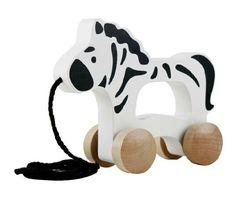 Животное деревянный трактор автомобиль крокодил жираф зебра слон тянуть детские игрушки ходунки