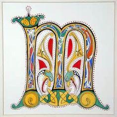 Image detail for -Tinker Tangles: Illuminated Letter
