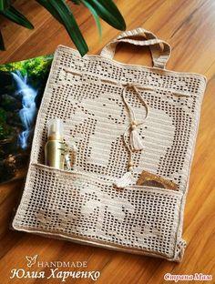 crochet filet bags