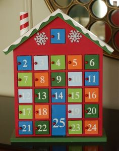 "Advent ""Giving"" Calendar (without candy!) I am printing this today and filling my advent!"