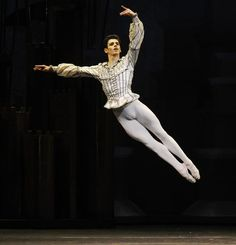 Federico Bonelli as The Prince in The Royal Ballet at the Royal Opera House London, UK