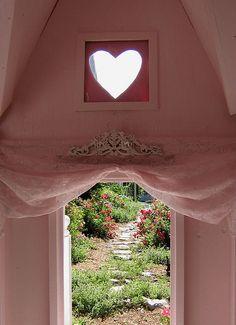 Heart shaped window