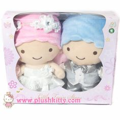 Sanrio LITTLE TWIN STARS Kiki Lala Grooms & Bride Wedding Dolls