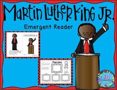 Martin Luther King, Jr. emergent reader will be a great addition to ...