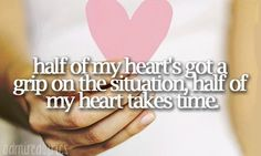 Half of my Heart.