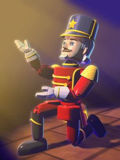 Prince Eric the Nutcracker from Barbie in The Nutcracker