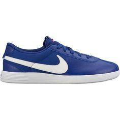 Deep Royal Blue/Bright Crimson/Sail  Nike Ladies Lunar Bruin Golf Shoes | via Lori's Golf Shoppe