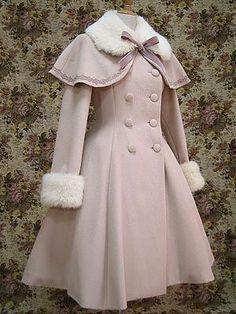 The Library for Lolita Fashion Kawaii Fashion, Lolita Fashion, Cute Fashion, Girl Fashion, Fashion Coat, Rock Fashion, Emo Fashion, Vestidos Vintage, Vintage Dresses