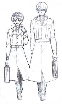 Haise & Arima   Tokyo Ghoul :RE
