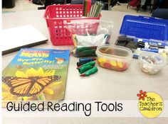 """The Teachers' Cauldron: Guided Reading """"Toolbox"""" Linky! Guided Reading Groups, Reading Centers, Reading Lessons, Reading Workshop, Reading Strategies, Reading Activities, Reading Skills, Reading Comprehension, Literacy Centers"""