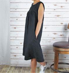 Linen DRESS/ All season dress/Washed/ Textured/100% от LouEmbrace
