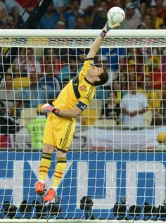 Iker Casillas reach for the star so if you land you know youll land on the clouds