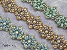 Paris Daisy Bracelet Tutorial A Beadweaving Pattern