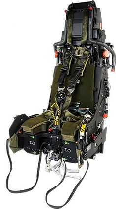 The development of the ejection seat for the Eurofighter Typhoon was carried out at Martin-Baker's facilities at Denham, Chalgrove and Langford Lodge. Ejection Seat, F14 Tomcat, Hard Surface Modeling, Fighter Aircraft, Model Airplanes, Aviation, Revelation 21, Spaceship, Industrial