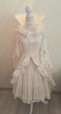 Rare BtssB Ribbon and Cream OP (price reduced) « Lace Market: Lolita Fashion Sales and Auctions