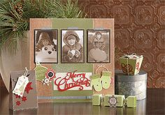 Get the Very Merry Christmas stamp set (11 images) used to create this artwork for only five dollars through November 30, 2012! #CTMH
