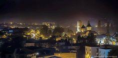 Targoviste, my hometown - The Princely capital of Vlad the Impaler,  in winter.